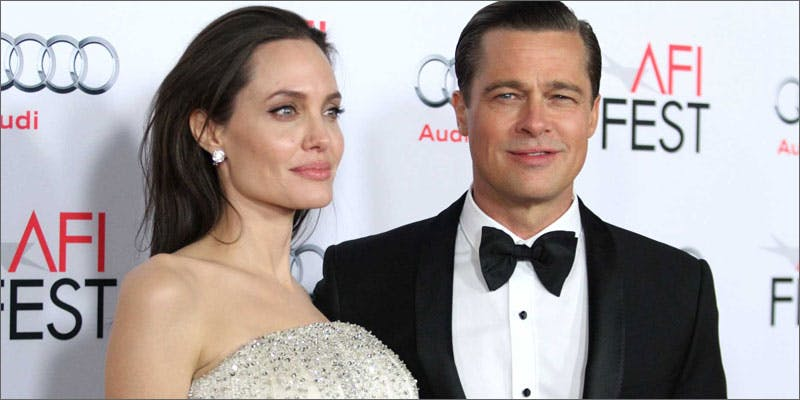 8 brad pitt angelina jolie weed divorce This Dominos Driver Delivered More Than Just Pizza