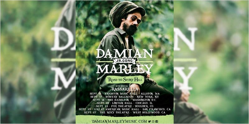 Damian Marley 3new This Dominos Driver Delivered More Than Just Pizza