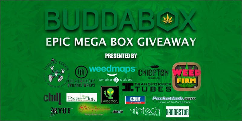 WIN A BUDDABOX 7 Win $500 Worth Of Gear In This Epic BuddaBox Competition