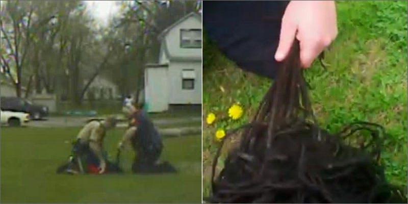 violent arrest over cannabis screenshot Watch: Cops Violently Arrest A Man Over Cannabis Use