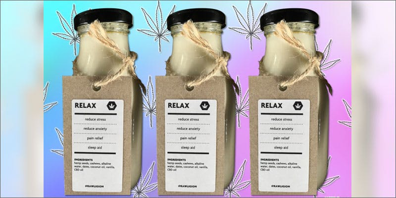 1 relaxing cannabidiol milk To Put It Bluntly, You Need To Watch This New Women & Weed Show
