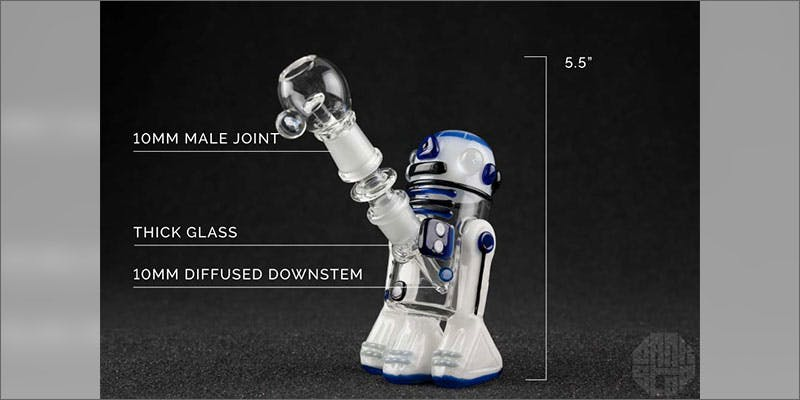 10 hottest rigs ultimate dab bar r2d2 Minnesota Adds PTSD To Medical Cannabis Conditions