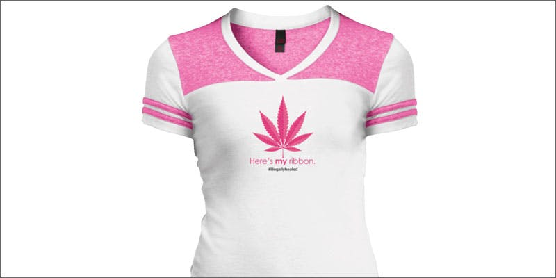 3 ways to wear pink pot leaf support shirt Christina Bellman: Levo Is The Next Evolution In Home Infusion