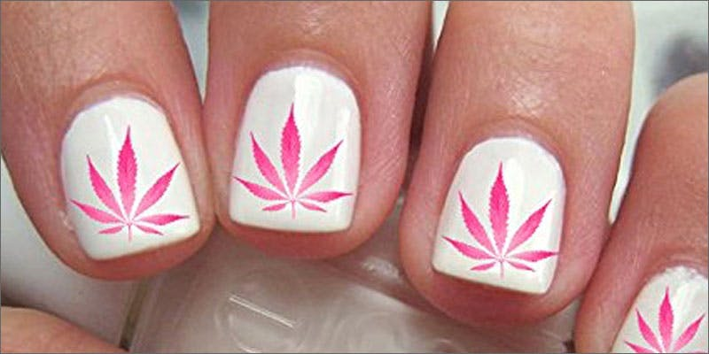 9 ways to wear pink pot leaf support nails Christina Bellman: Levo Is The Next Evolution In Home Infusion