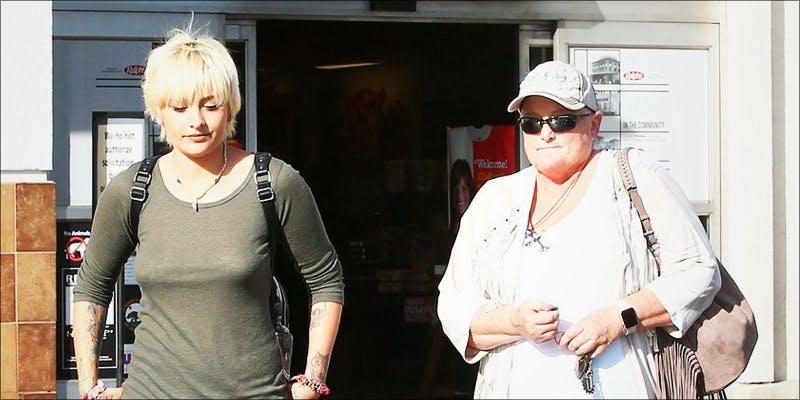 Debbie Rowe 2 Paris Jackson Is Now Promoting Cannabis Over Chemo