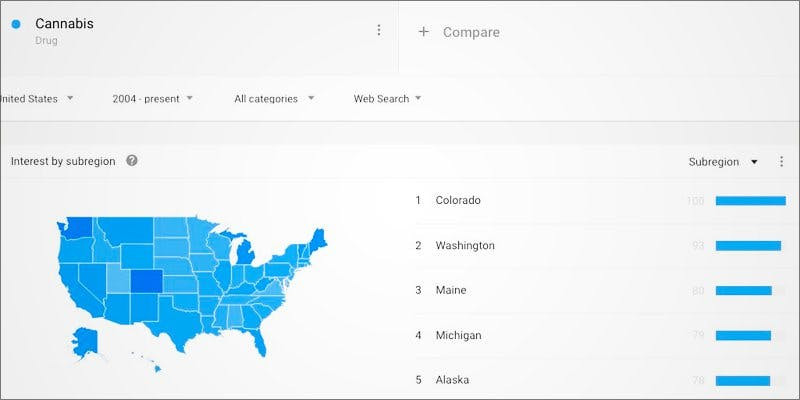 On Google 2 African Americans At Greatest Risk For Cannabis Arrests