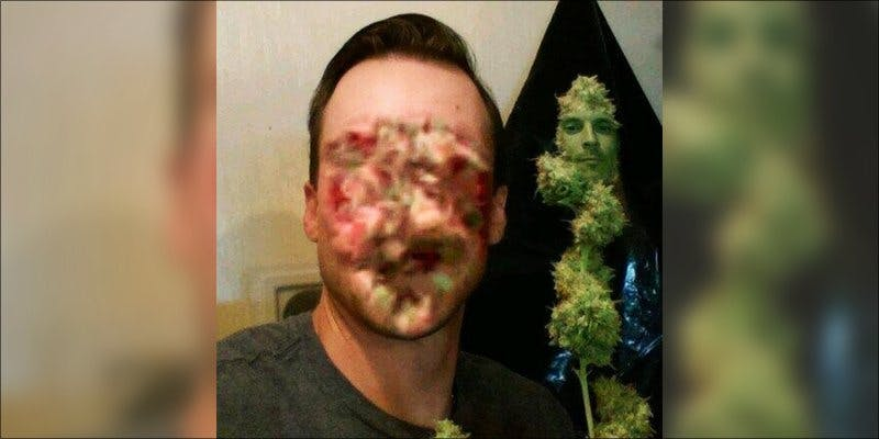 face swapped 1 Will Snapchat Launch A New Weed Face Filter?