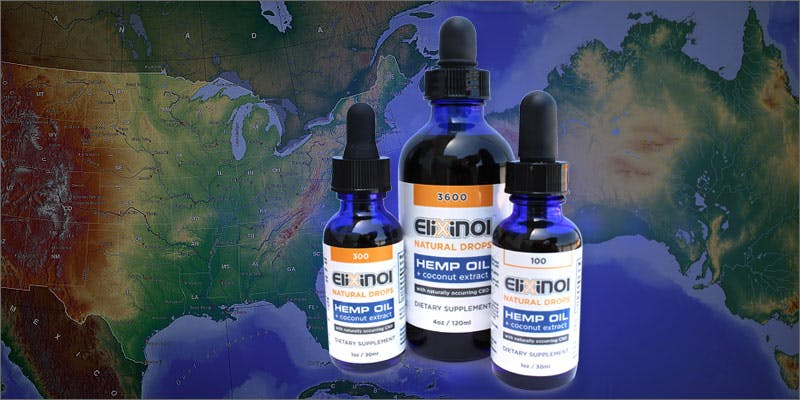 Elixinol Hemp CBD Oil