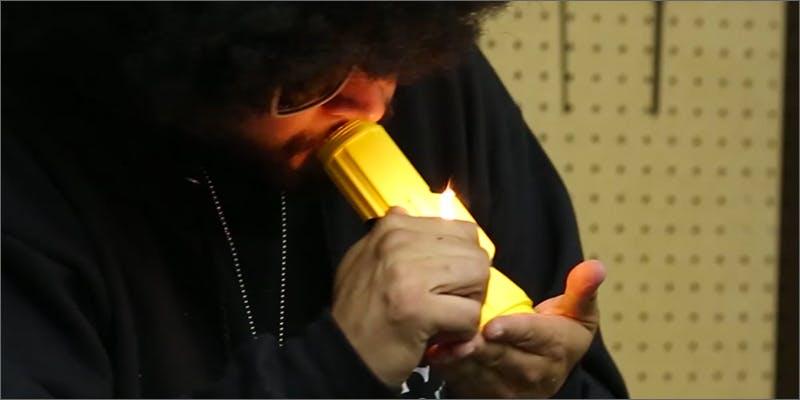 flashlight pipe/steamroller