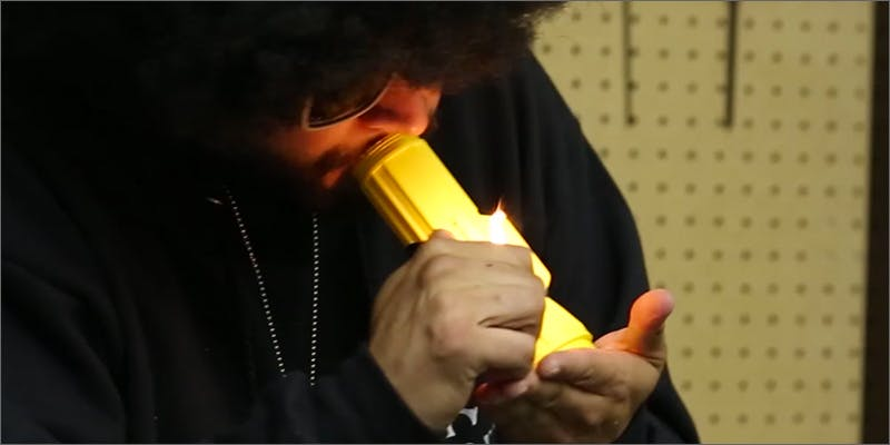 flashlight pipe/steamroller