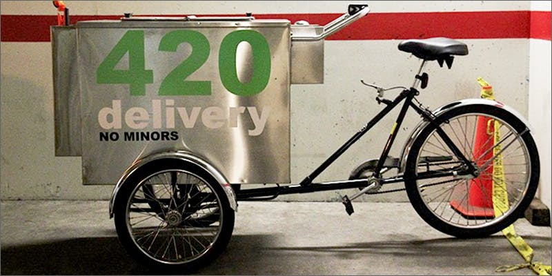 Cannabis Vending Cart