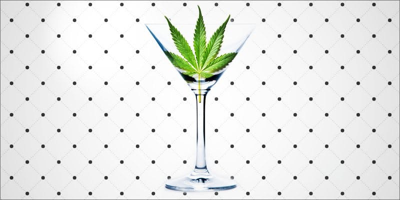 Cannabis-Infused Alcoholic Drinks