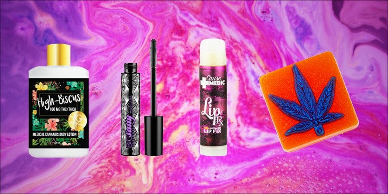 Cannabis-Infused Beauty Products