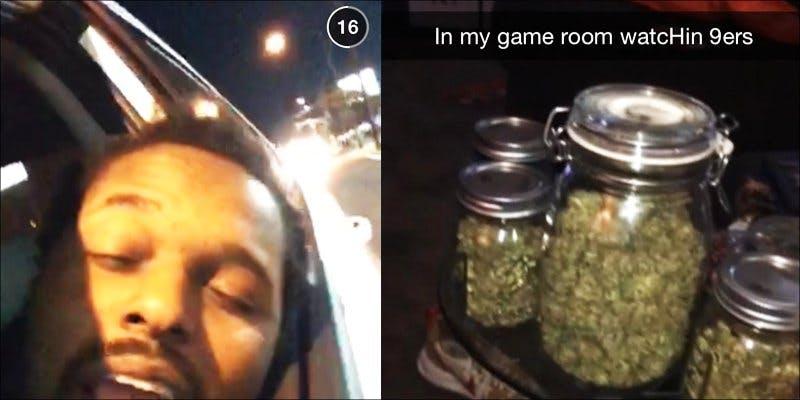 Weed snapchats