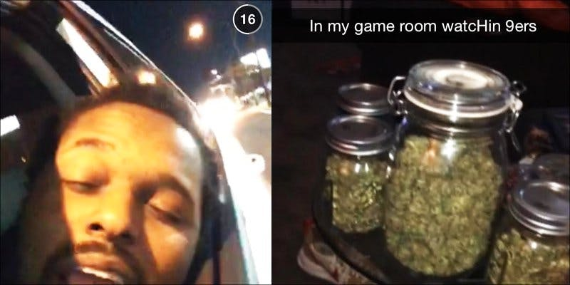Weed Snapchats 2 Turns Out, Postal Workers Are Stealing Illegally Shipped Weed