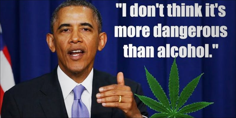 President Obama Says 2 This Machine Grows Weed For You & Sends You A Text When Its Ready
