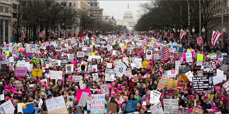 marched against trump
