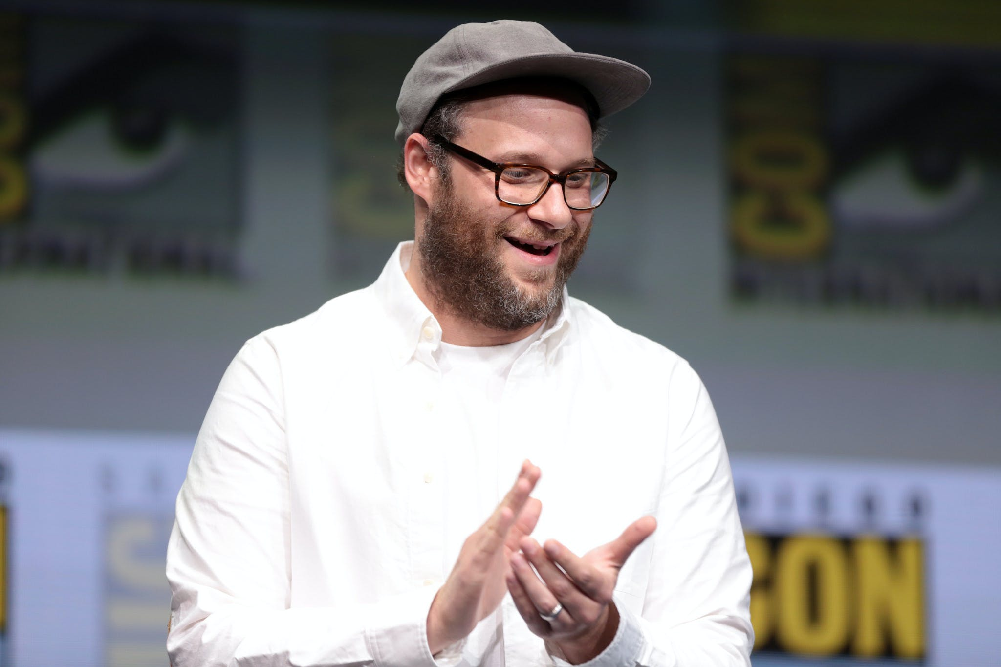 Seth Rogen was on Sesame Street and everyone made weed jokes.