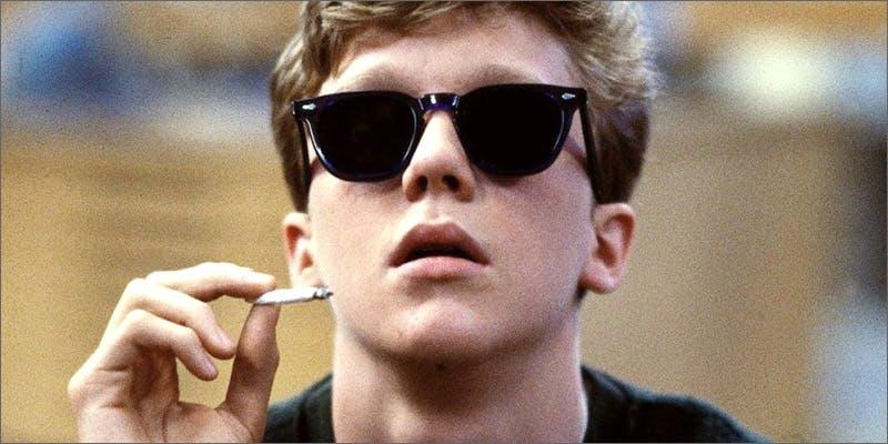 started smoking weed