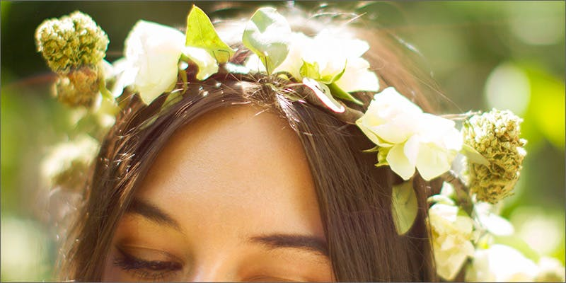 weed flower crowns