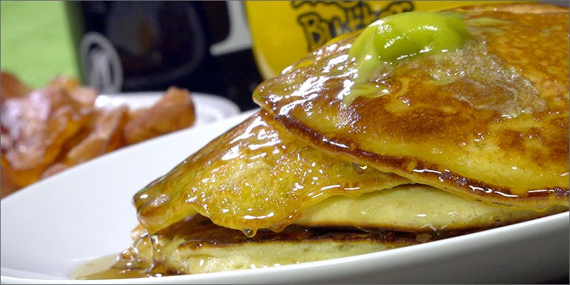 Cannabis-Infused Pancakes