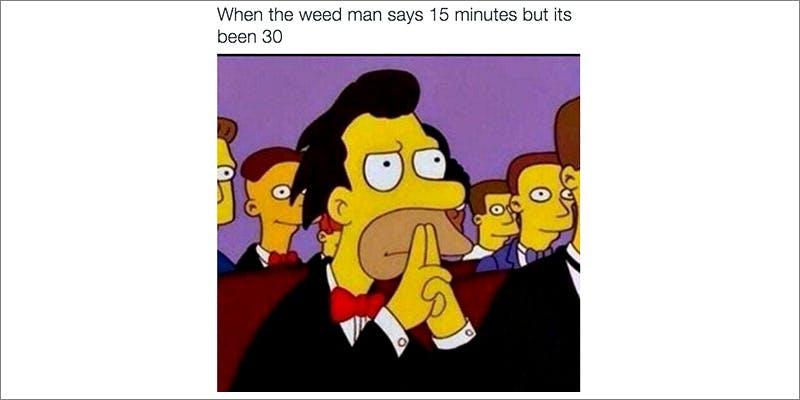 50 Weed Memes 17 TSA Accidentally Said Cannabis Is OK On Planes