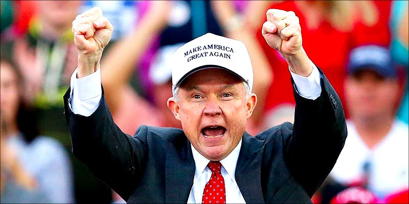 Jeff Sessions Says 1 Jeff Sessions Is Surprised Americans Aren't Embracing Anti Cannabis Reform