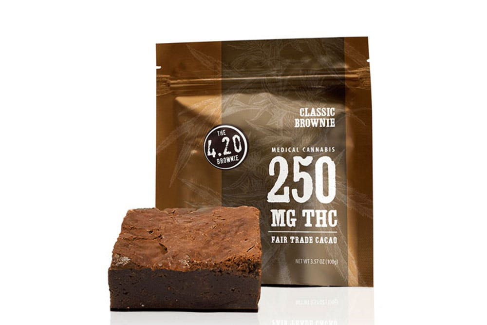 Photo of 420 Brownie by VCC Brands which is one of the strongest products in the world
