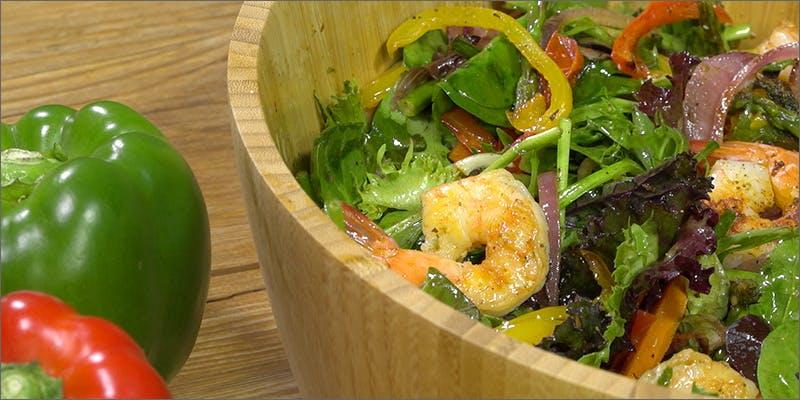 Shrimp N' Veggie Salad
