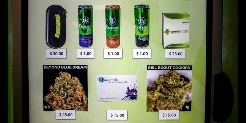 MARIJUANA VENDING MACHINES 2 How to microdose weed and treat anxiety