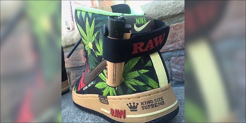 RAW Nike Air 4 Chance The Rappers Statement On Weed Legalization Is Everything