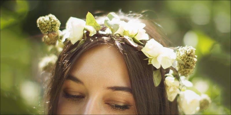 Cannabis Floral Crowns