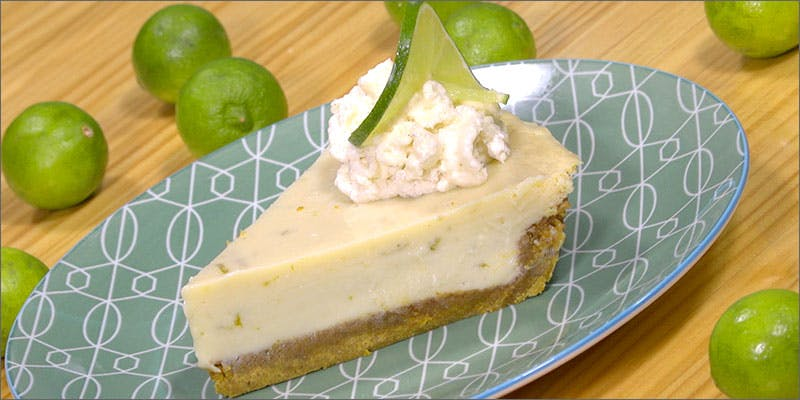 How To Make Cannabis-Infused Key Lime Pie