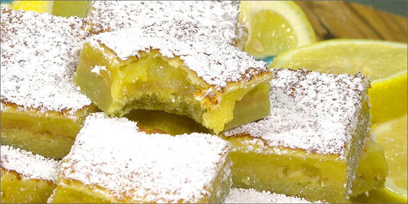 Celestial Lemon Bars