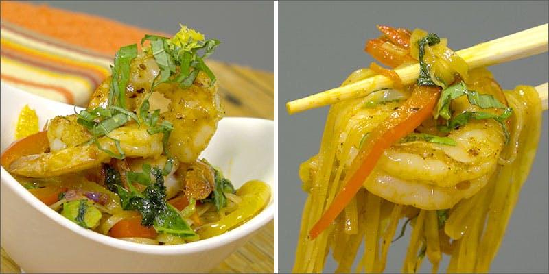 Super Shrimp Stir-Fry