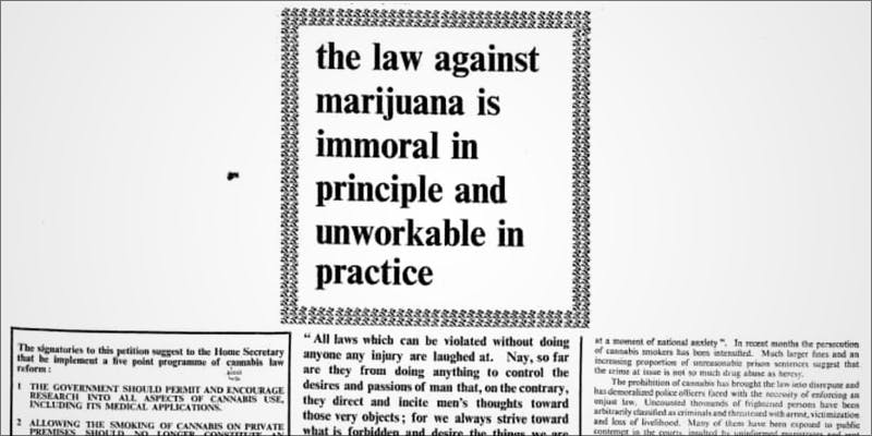 50 Years Ago 2 Believe It Or Not, Cannabis Prohibition Just Celebrated Its 80th Birthday