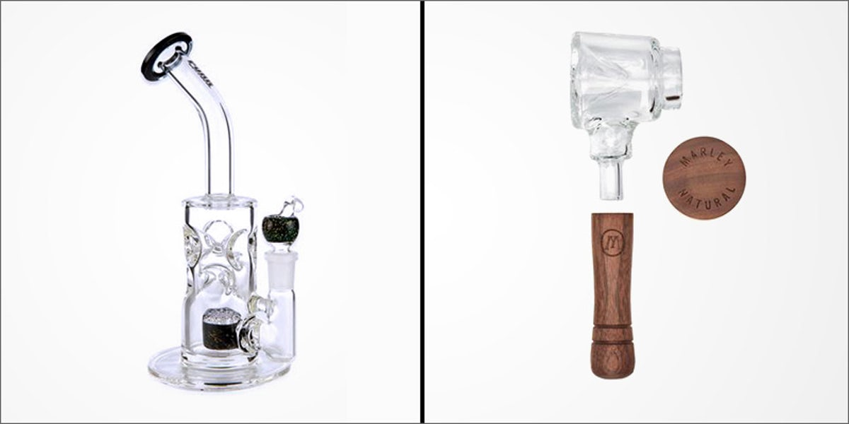 Bongs VS Pipes: Which Is The Best Option For New Smokers? | Herb