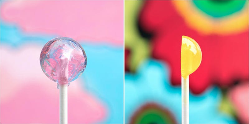 Half Lit Lollipops