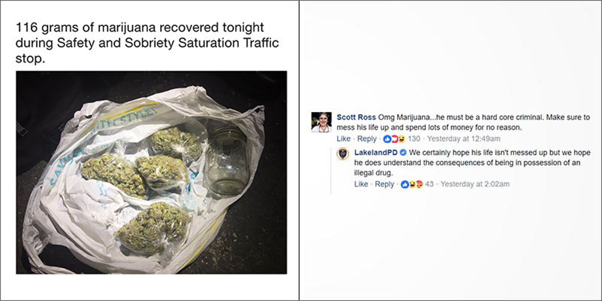 The Internet Is Trolling These Cops About Their Pathetic