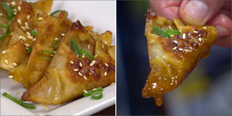 Sticky Pot Stickers