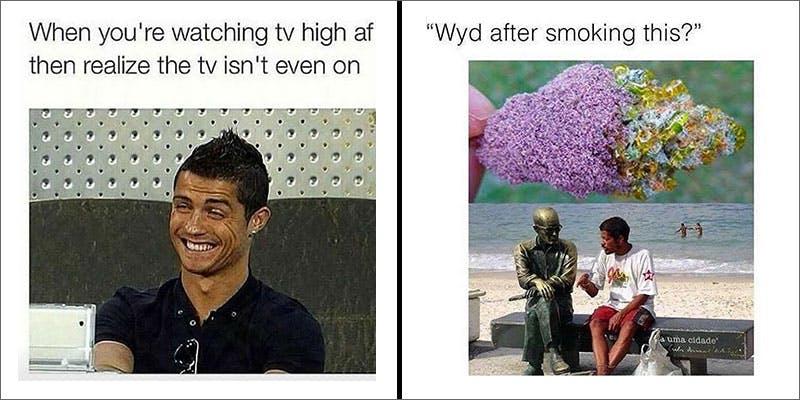 #WeedMemes