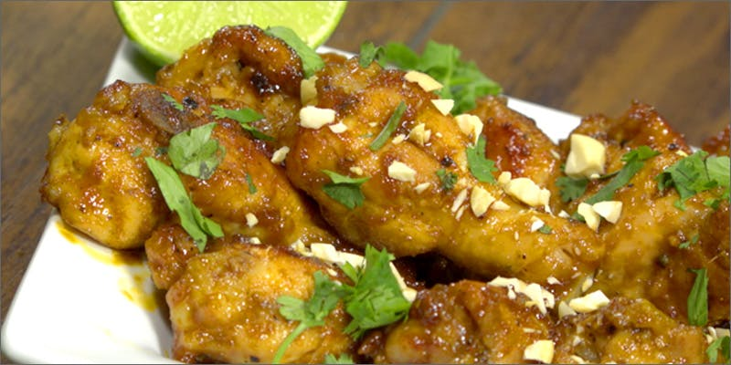 sticky icky wings