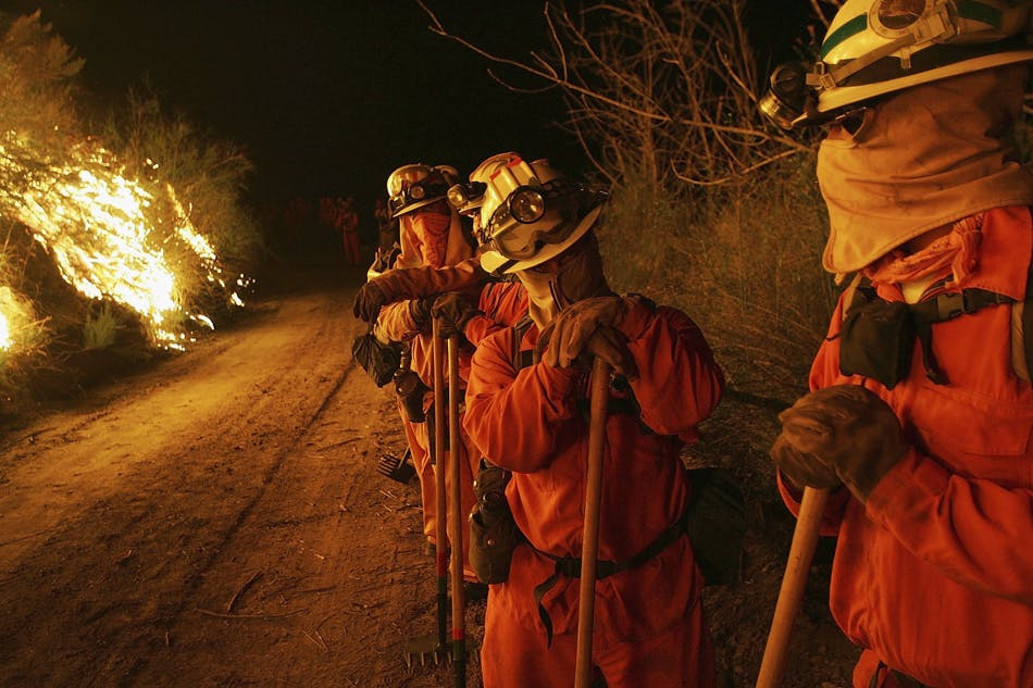 California Fire Fighters 1 of 3 These Bible Belt Christians Believe That Weed Is God's Perfect Medicine