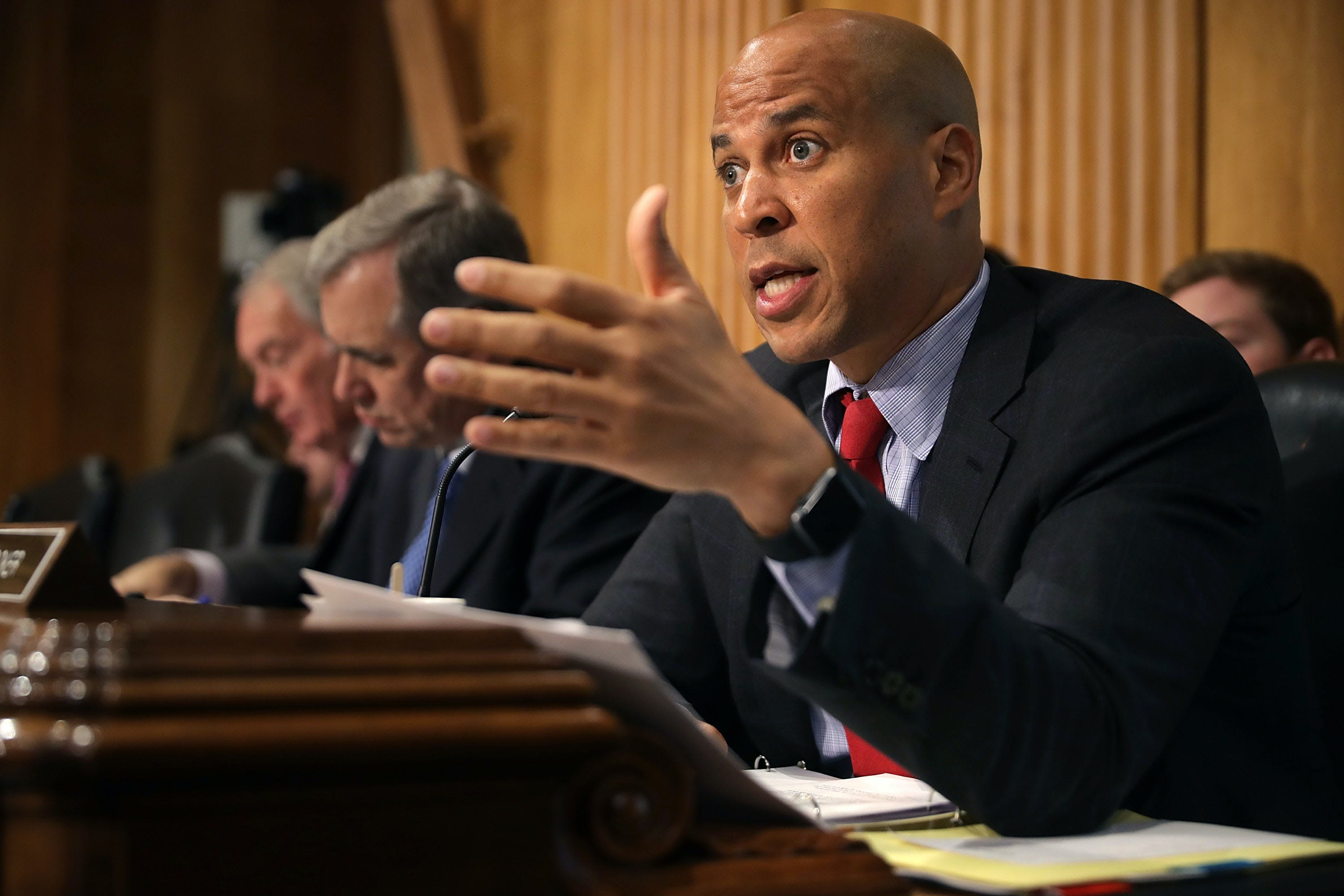 Cory Booker Marijuana Legalization