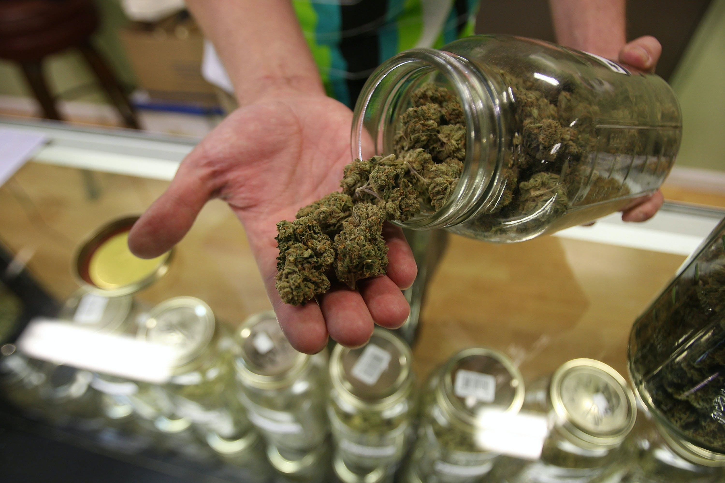 GettyImages 91997107 These Bible Belt Christians Believe That Weed Is God's Perfect Medicine