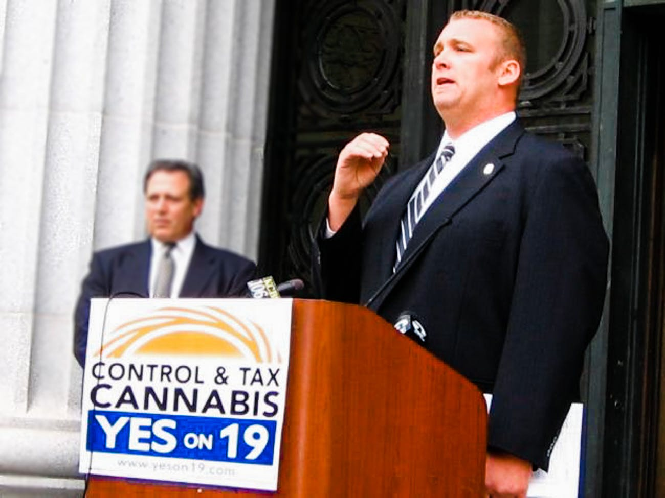 Nate Bradley is a 3 of 3 This Former Cop Became One of the Most Powerful Cannabis Activists