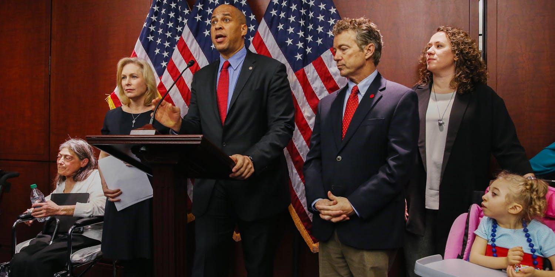 Senator Cory Booker to Legalize Marijuana Nationally By Punishing Prohibition States