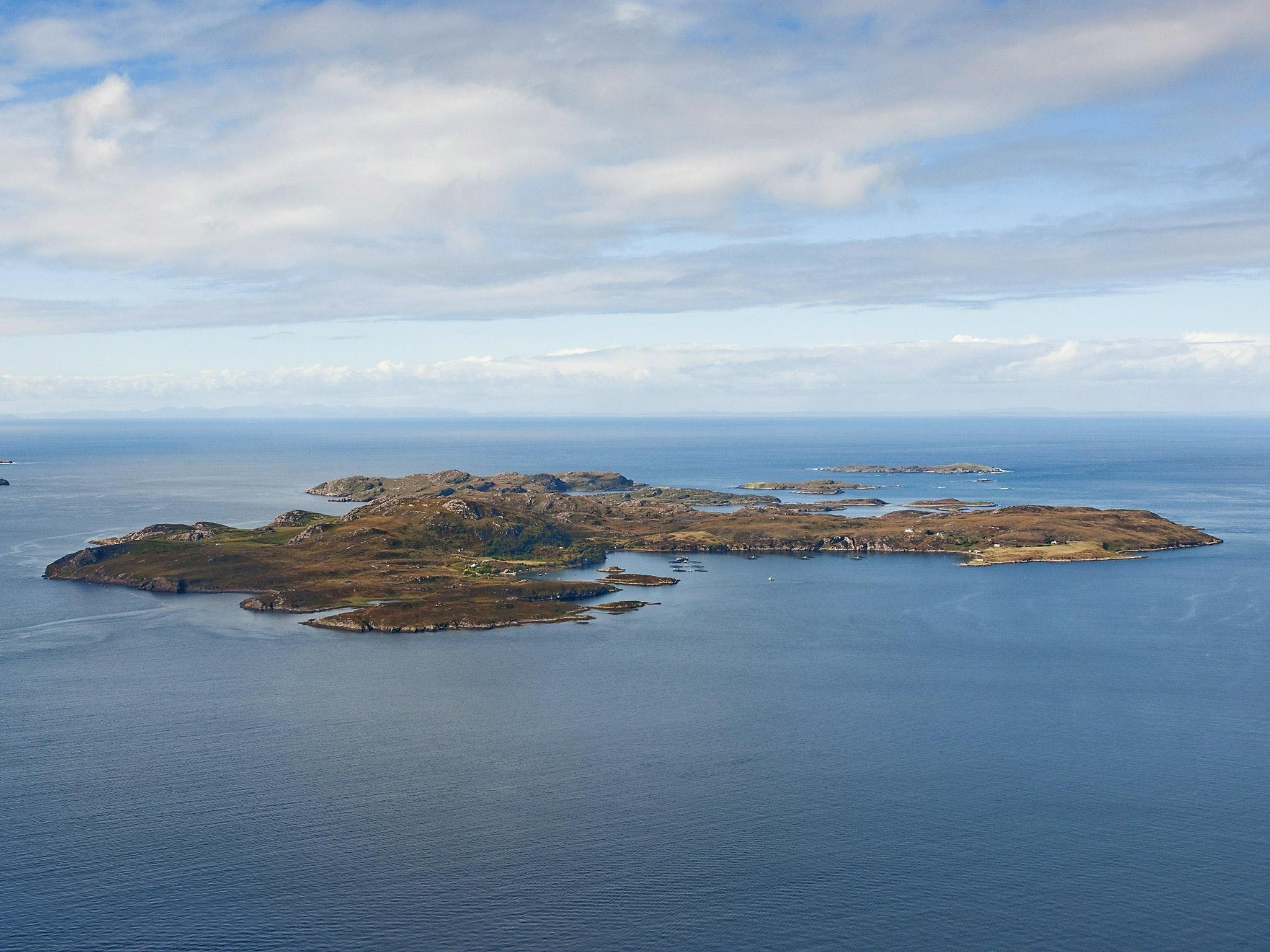 Scottish Island Marijuana Growers Paradise