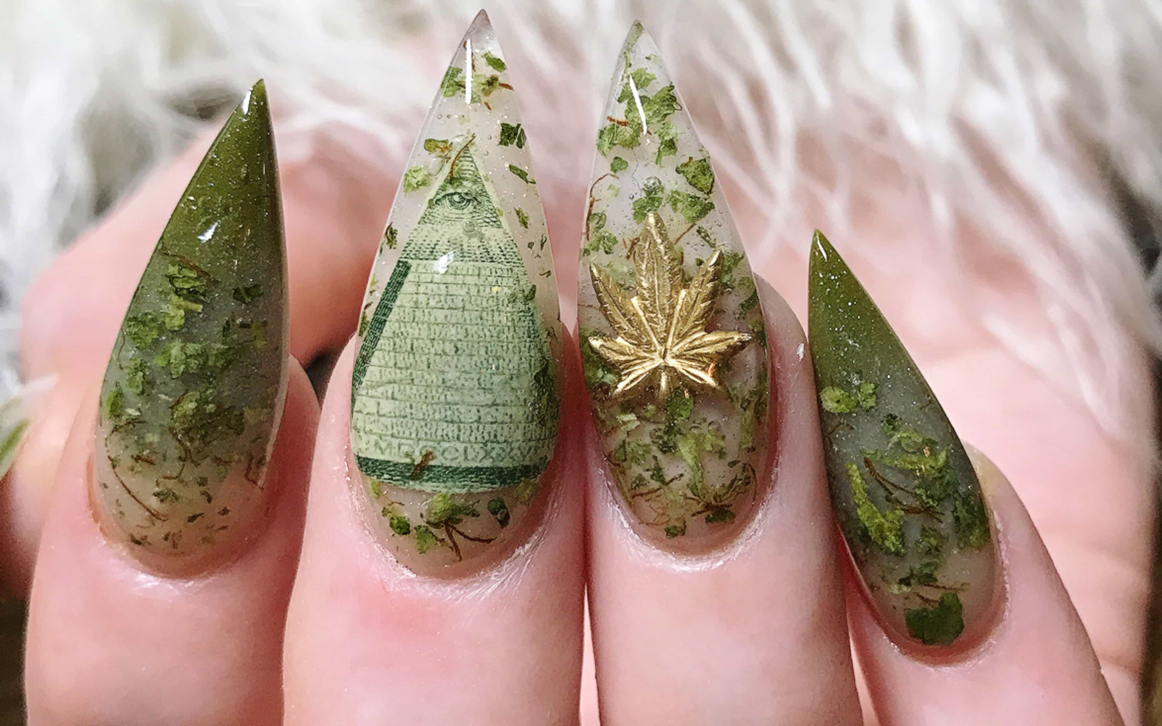 Weed Manicure