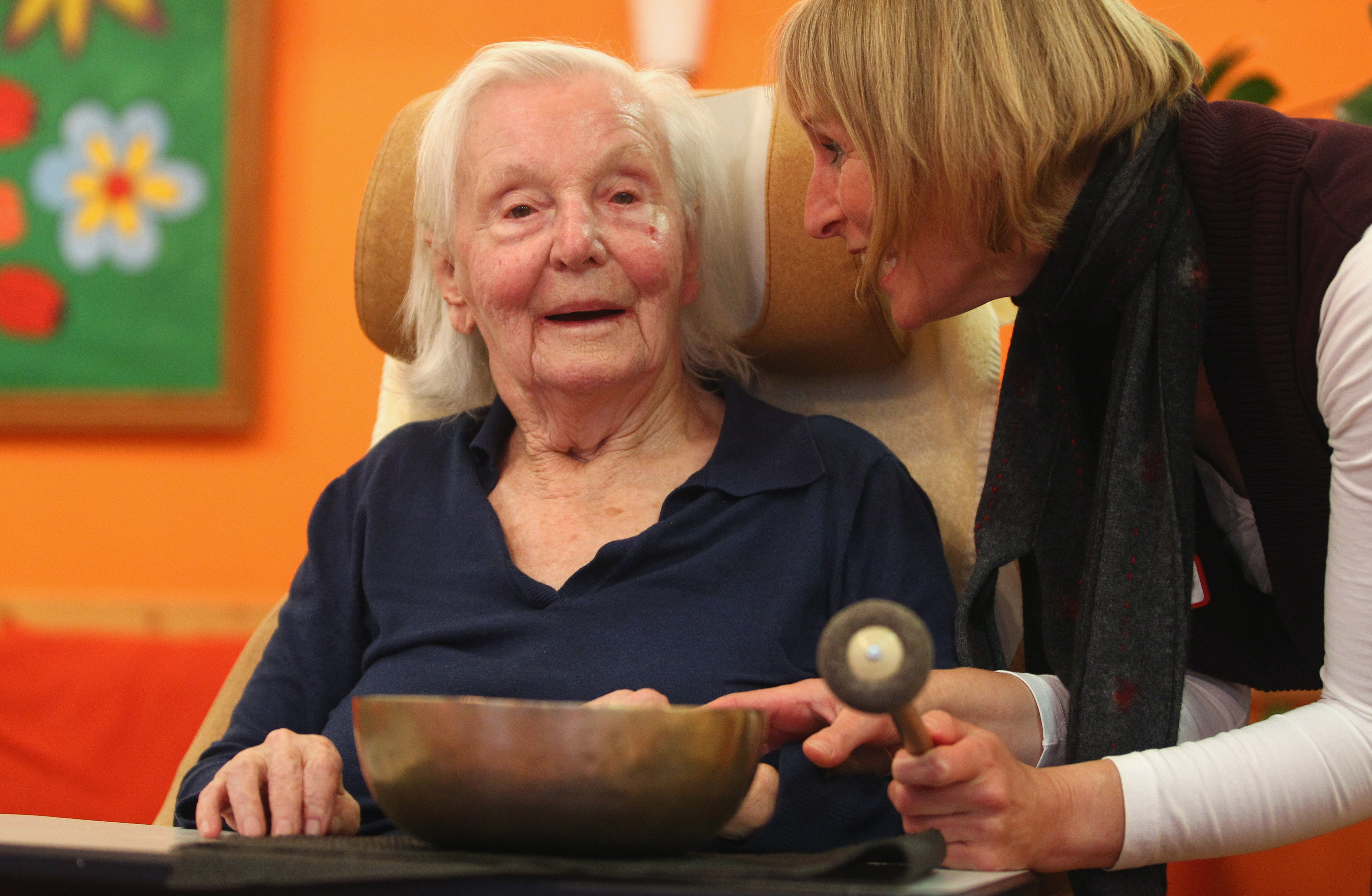 Elderly People Salvia Alzheimers